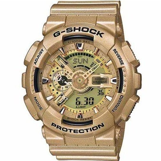 2caddf929a0 Relógio Casio G-Shock GA-110GD-9ADR Analógico Digital - Incolor ...