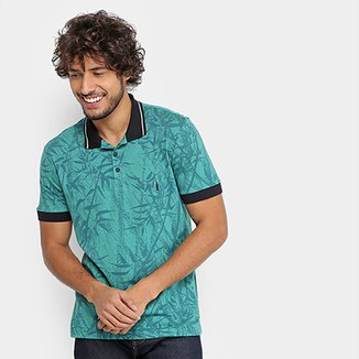 Camisa Polo Coca-Cola Tropical Full Print Masculina 71629c6a40db0