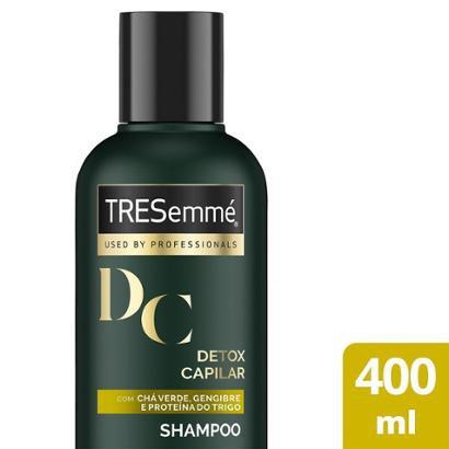 Shampoo Tresemmé Detox Capilar 400ml
