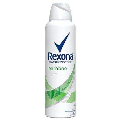 Desodorante Antitranspirante Rexona Bamboo & Aloe Vera Feminino Aerosol 150ml