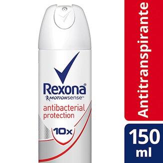 8a20585f00185 Desodorante Rexona Women Aerosol Antitranspirante Antibacterial Protection  Feminino 150ml