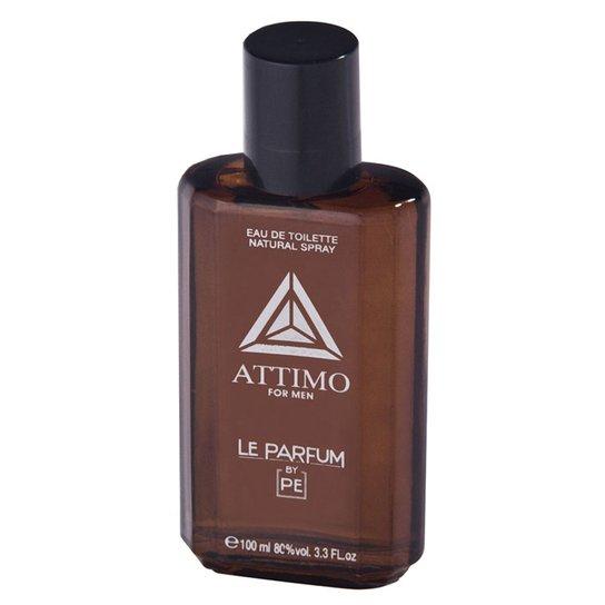 8f58abd02b Perfume Masculino Attimo For Men Paris Club Eau de Toilette 100ml - Incolor