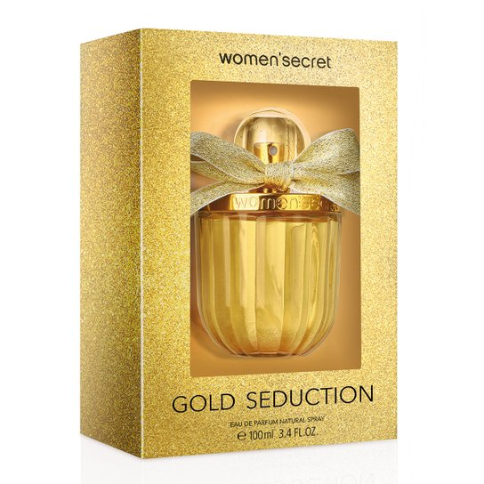 c05bdb41d Perfume Gold Seduction Feminino Women s Secret EDP 100ml - Incolor ...