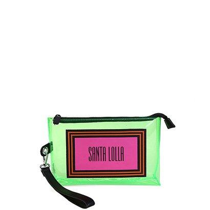 Necessaire Santa Lolla PVC Colors Feminina