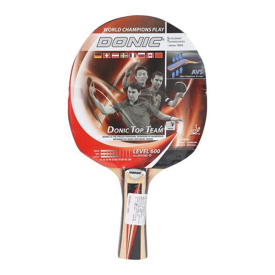 10b81c098 Raquete de Tênis de Mesa Donic Top Teams 600 - Compre Agora