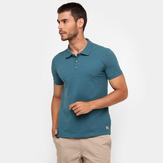 c8d9b54579 Camisa Polo Kohmar Piquet Básica - Verde escuro - Compre Agora ...