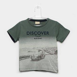 Camiseta Infantil Milon Estampa Urbana Masculina c1b852bd821