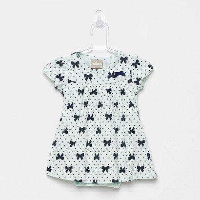 Vestido Infantil Milon Cotton Body Interno