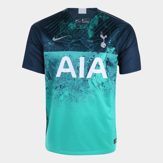 Camisa Tottenham Third 2018 s n° - Torcedor Nike Masculina - Compre ... cbaf3351248aa