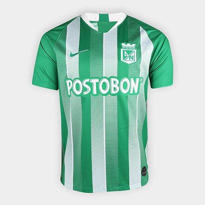 c2b23a84de98a Camisa Atlético Nacional Home 19 20 s nº - Torcedor Nike Masculina