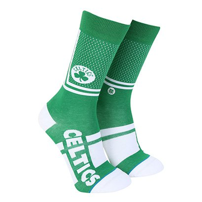 Meia Stance NBA Boston Celtics Arena Collection Shortcut Masculina