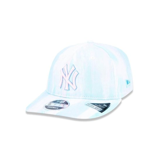 Boné 950 New York Yankees MLB Aba Reta New Era - Verde - Compre ... 171a36a35aa