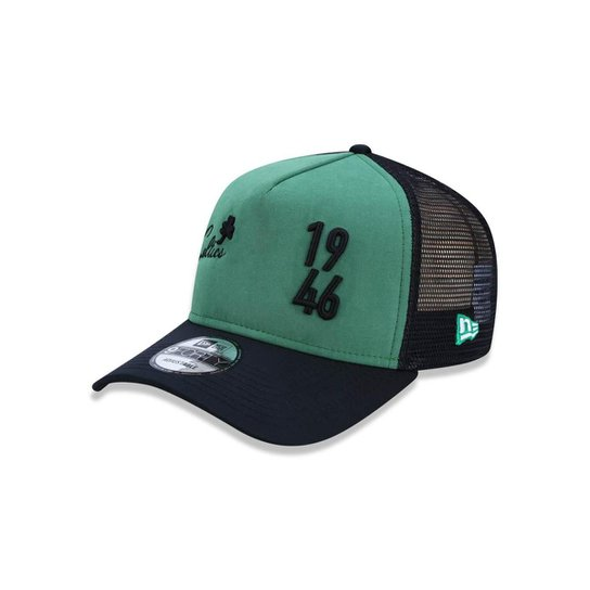 ca6187ad02f4b Boné 940 Boston Celtics NBA Aba Reta New Era - Verde e Preto ...