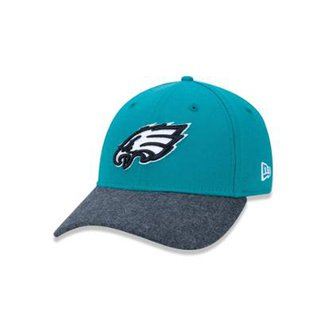 Boné 3930 Philadelphia Eagles NFL Aba Curva New Era 4ac0a88bcab