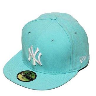 Boné New Era Aba Reta Fechado Mlb Ny Yankees Tint Fashion d9666b30b59