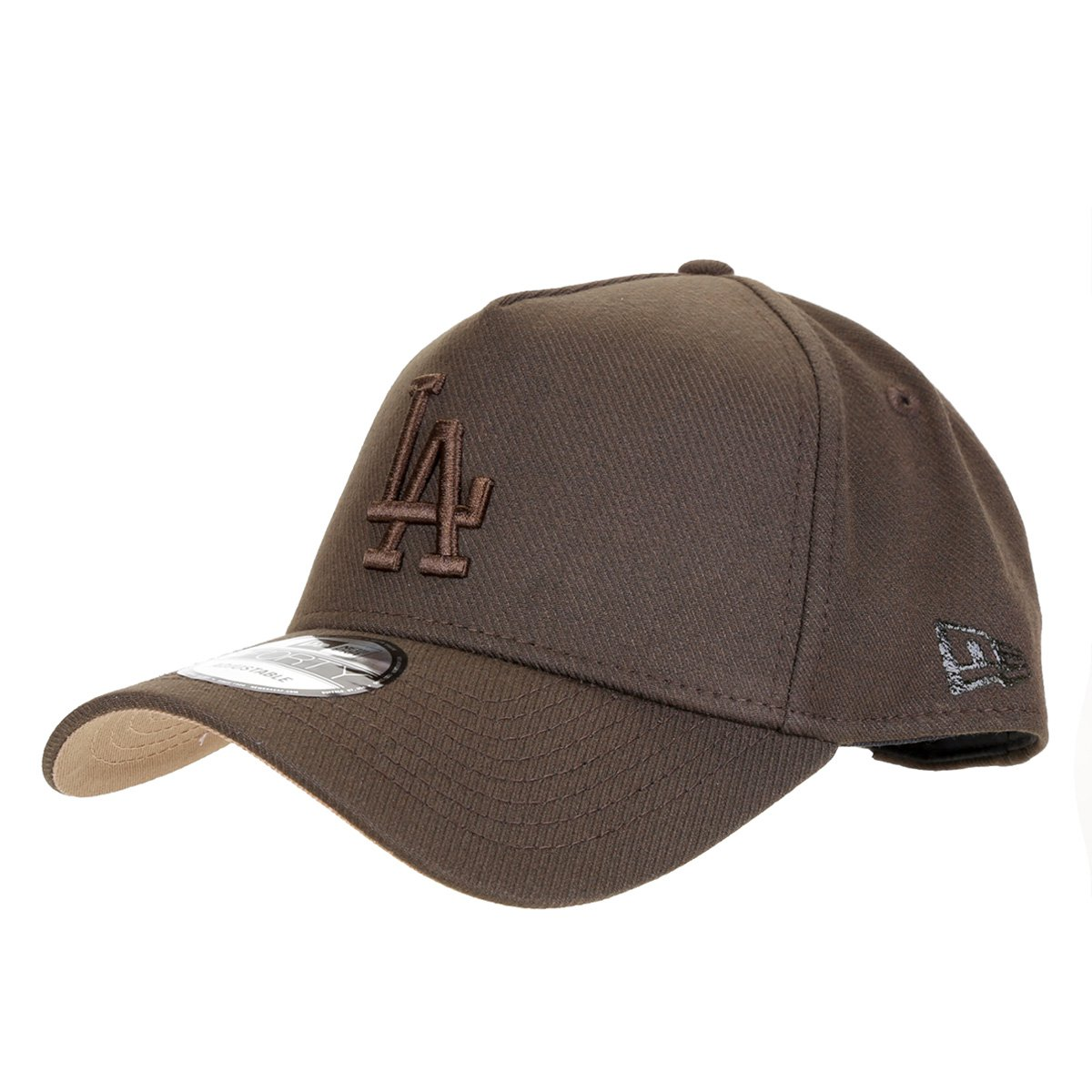 Boné New Era MLB Los Angeles Dodgers Aba Curva Snapback Masculino