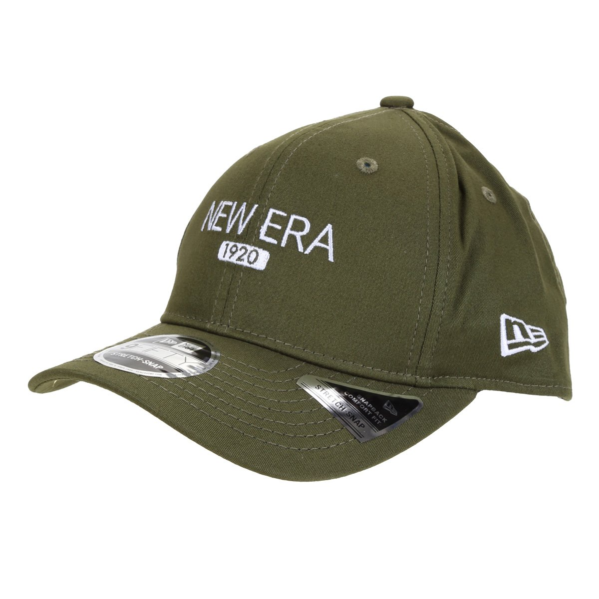 Boné New Era Aba Curva Snapback 950 Stretch Cotton Washable