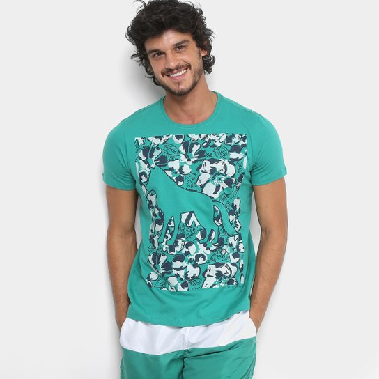 Camiseta Acostamento Lobo Masculina - Compre Agora   Netshoes b8fe9fe80e