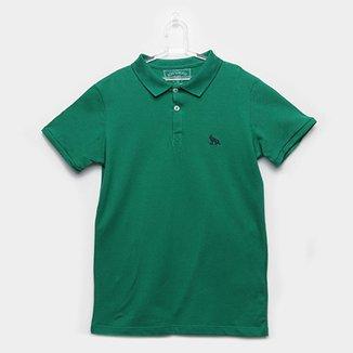 d1875d62d5 Camisa Polo Infantil Acostamento Detalhe Bordado Masculina