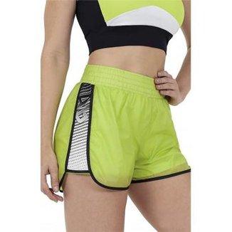 bdba3b440 Shorts Alto Giro Vitra Recorte Lateral Feminino