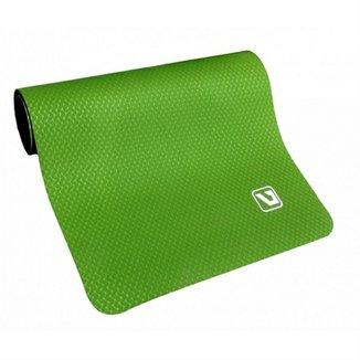 Colchonete Tapete Yoga Mat Pilates Luxo Live Up - Verde 43fdde355c