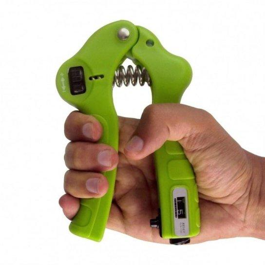 51498d18f Hand Grip Ajustável com Contador LiveUp - Verde - Compre Agora ...