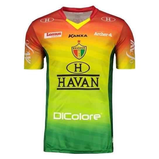 2538b02c6 Camisa Kanxa Brusque Masculina - Verde