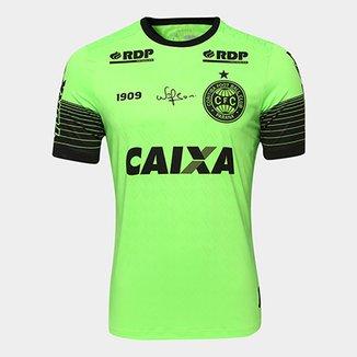 3913857869 Camisa Goleiro Coritiba 2018 s n° c  Patrocínio - Jogador 1909 Masculina