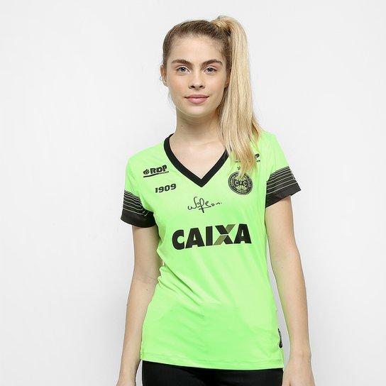 5669e3c2f8 Camisa Goleiro Coritiba 2018 s n° C Patrocínio - Jogador 1909 Feminina ...