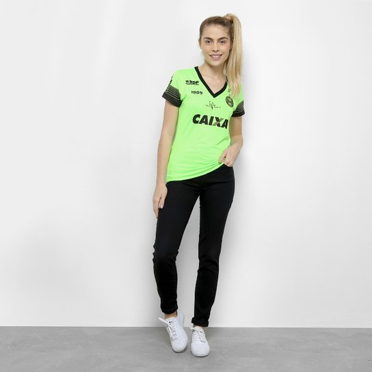 ... Camisa Goleiro Coritiba 2018 s n° C Patrocínio - Jogador 1909 Feminina  ... edf0052d091