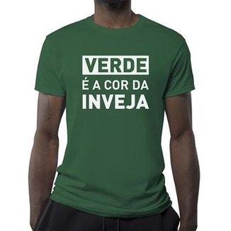 743a90bff Camiseta Palmeiras Verde É A Cor Da Inveja Masculina