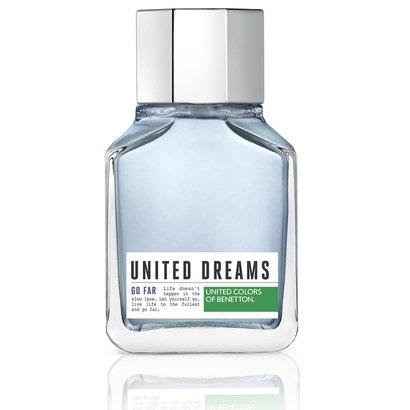 Perfume Masculino United Dreams Go Far Benetton Eau de Toilette 100ml