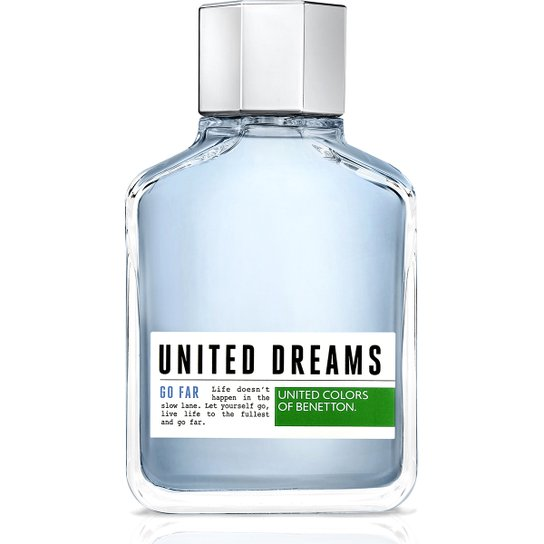 e18a59e53 Benetton Perfume Masculino United Dreams Go Far EDT 200ml - Incolor ...