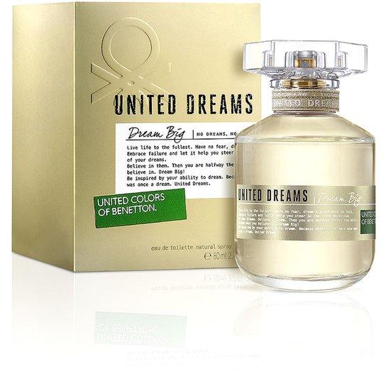 0f4437c33ae Perfume Dream Big Edition Feminino Benetton EDT 80ml - Compre Agora ...
