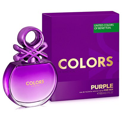 Perfume Colors Purple Feminino Benetton EDT 80ml