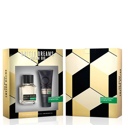 Kit Perfume Masculino Dream Big Man Benetton Eau de Toilette 100ml + Pós Barba...