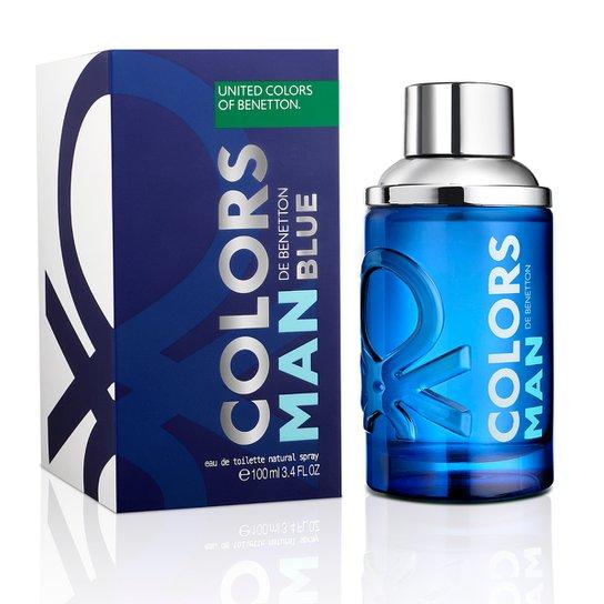 5120d9c24 Perfume Colors Man Blue Masculino Benetton Eau de Toilette 100ml - Incolor