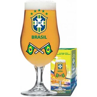 16a3742aea313 Taça Munique CBF Bandeira 380 ml