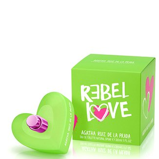075c0f88b74 Perfume Rebel Love Feminino Agatha Ruiz de La Prada Eau de Toilette 30ml