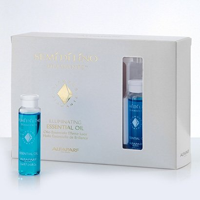 Ampola Azul Alfaparf Semí Dí Líno Diamante Essential Oil c/ 12 Und x 15ml cada