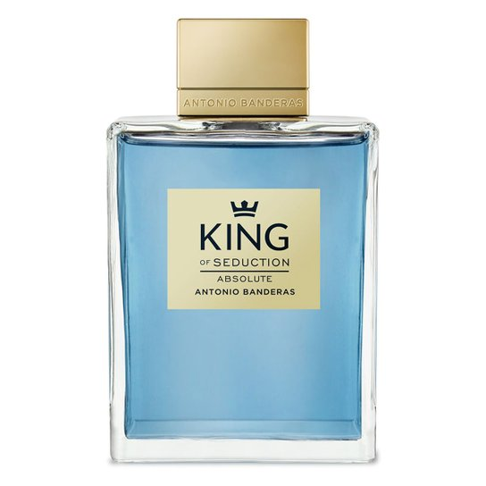 dcca3b97e Perfume King of Seduction Masculino Antonio Banderas EDT 200ml - Incolor