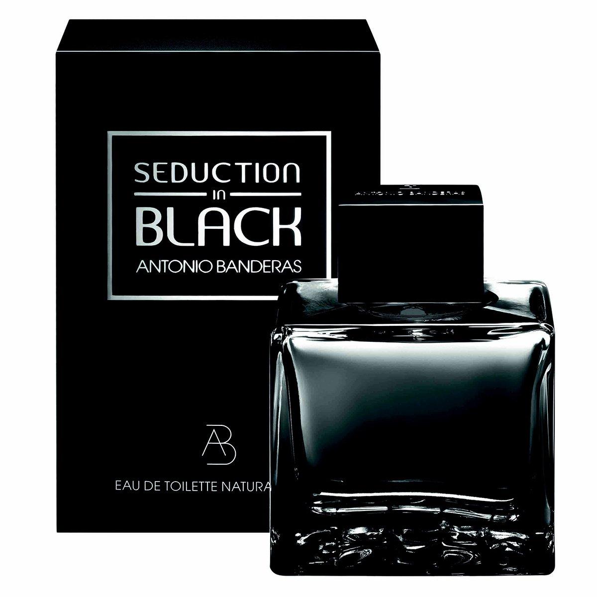 Perfume Masculino Seduction in Black Men Antonio Banderas Eau de Toilette 50ml - 1
