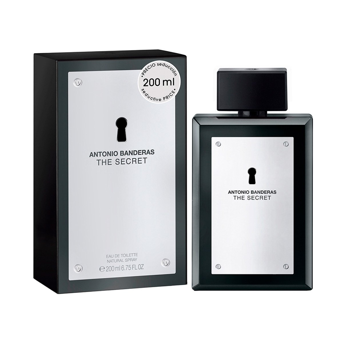 Perfume Masculino The Secret Antonio Banderas Eau de Toilette 200ml