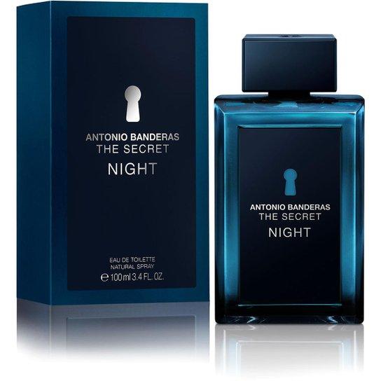 a4ab0562d Antonio Banderas Perfume Masculino The Secret Night EDT 100ml - Incolor