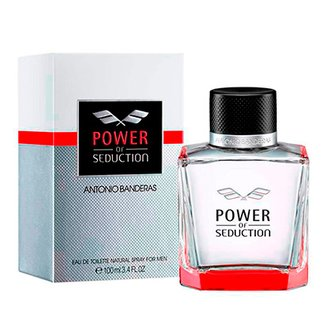 744031766f Perfume Power of Seduction Masculino Antonio Banderas Eau de Toilette 100ml