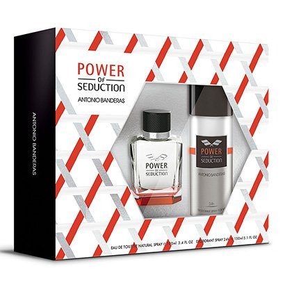 Antonio Banderas Power of Seduction Kit - Eau de Toilette 100ml + Desodorante...
