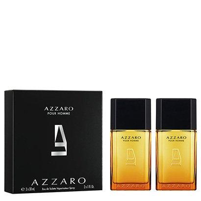 Kit Perfume Masculino Pour Homme Azzaro Eau de Toilette 30ml + 30ml