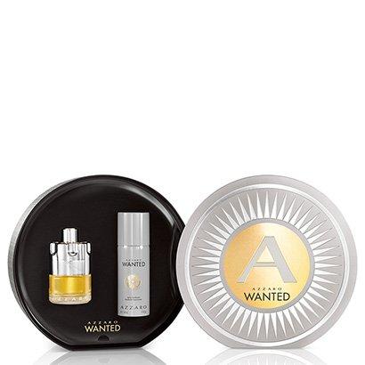 Kit Masculino Perfume Azzaro Wanted EDT 100ml  + Desodorante 150ml
