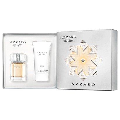 Kit Perfume Feminino Pour Elle Azzaro Eau de Parfum 75ml + Body Lotion 100ml