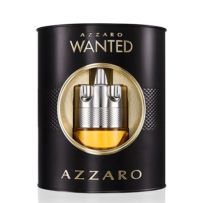 Kit Perfume Masculino Wanted Azzaro Eau de Toilette 100ml + Hidratante Facial...